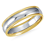 Mens Gold & Platinum Bands